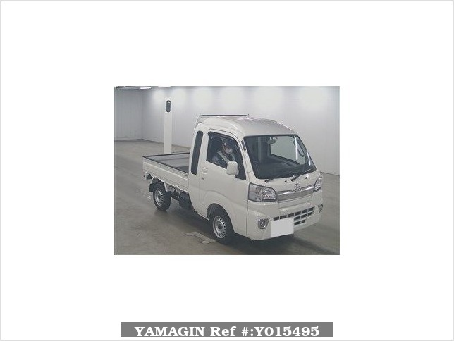 It is a picture of the white daihatsu hijet  in 2018,Sub Photo 0 Stock No.Y015495