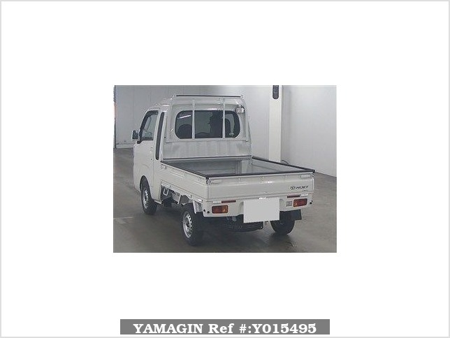 It is a picture of the white daihatsu hijet  in 2018,Sub Photo 1 Stock No.Y015495