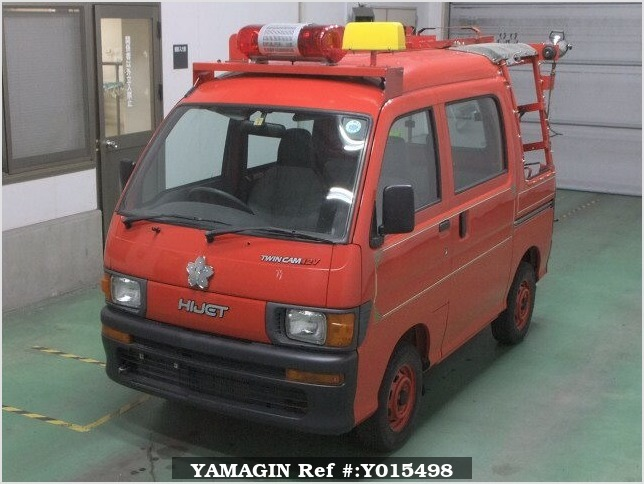 It is a picture of the red daihatsu hijet in 1997,Sub Photo 5 Stock No.Y015498