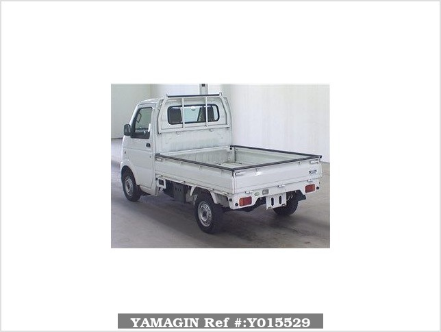 It is a picture of the white suzuki carry  truck in 2007,Sub Photo 1 Stock No.Y015529