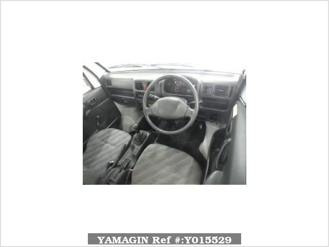 It is a picture of the white suzuki carry  truck in 2007,Sub Photo 2 Stock No.Y015529