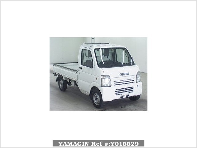 It is a picture of the white suzuki carry  truck in 2007,Sub Photo 0 Stock No.Y015529