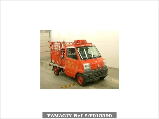 It is a picture of the  red  color substitution  have  mitsubishi minicab in 1999,Sub Photo 0 Stock No.Y015590