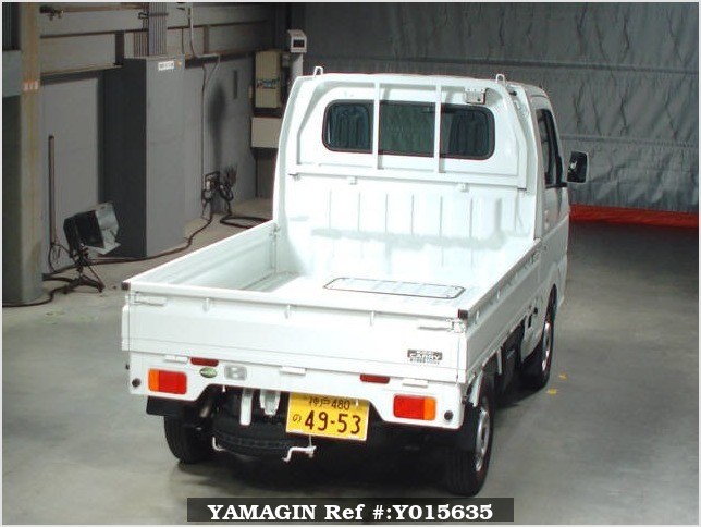 It is a picture of the white suzuki carry  in 2017,Sub Photo 1 Stock No.Y015635