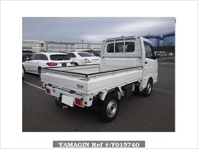 It is a picture of the white suzuki carry  dump in 2015,Sub Photo 2 Stock No.Y015740