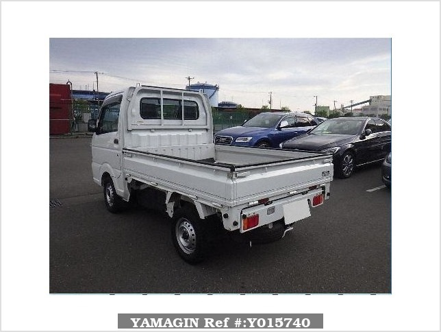 It is a picture of the white suzuki carry  dump in 2015,Sub Photo 3 Stock No.Y015740
