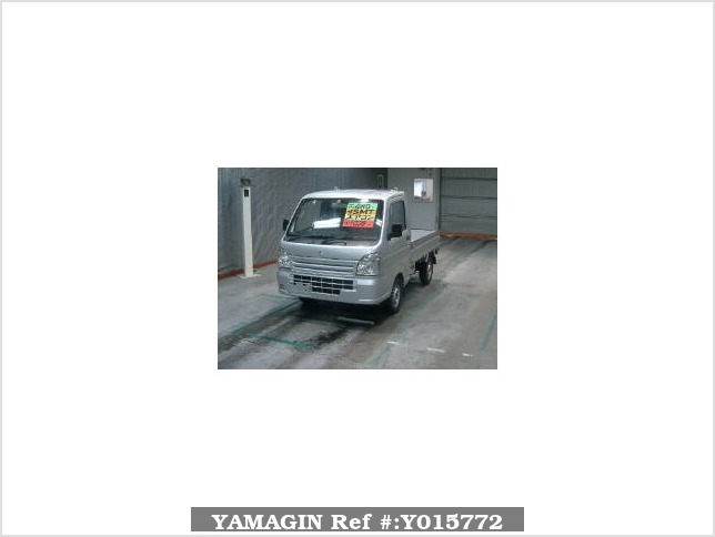 It is a picture of the silver suzuki carry  truck in 2016,Sub Photo 0 Stock No.Y015772