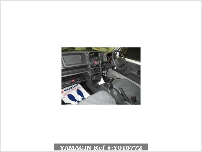 It is a picture of the silver suzuki carry  truck in 2016,Sub Photo 3 Stock No.Y015772