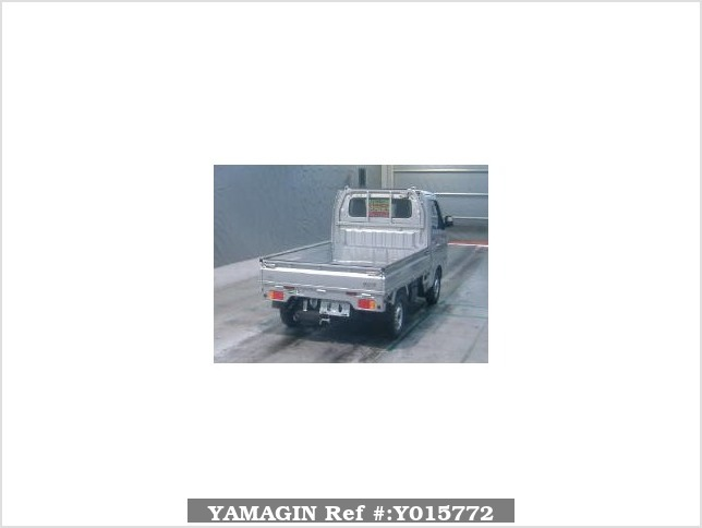 It is a picture of the silver suzuki carry  truck in 2016,Sub Photo 1 Stock No.Y015772