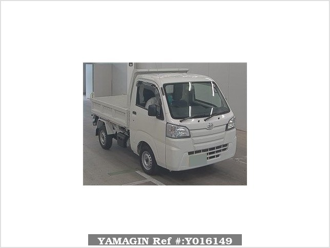 It is a picture of the white daihatsu hijet  in 2016,Sub Photo 0 Stock No.Y016149