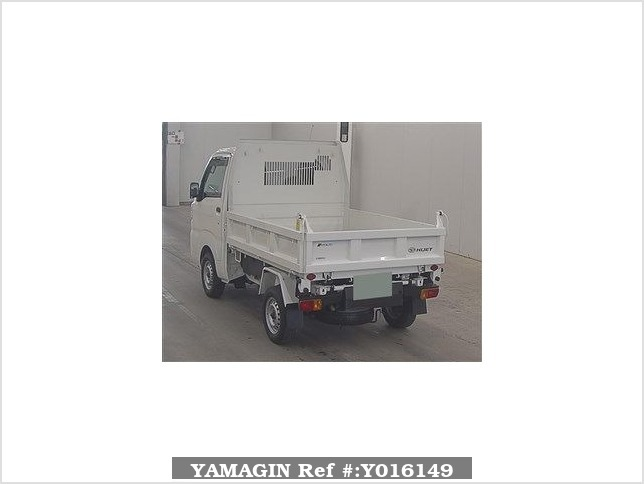 It is a picture of the white daihatsu hijet  in 2016,Sub Photo 1 Stock No.Y016149