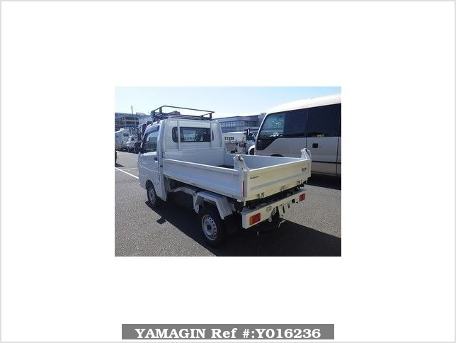 It is a picture of the white suzuki carry  in 2016,Sub Photo 1 Stock No.Y016236