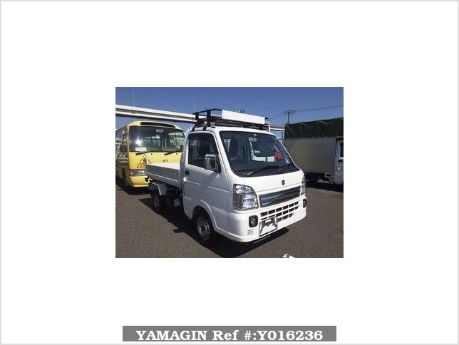 It is a picture of the white suzuki carry  in 2016,Sub Photo 0 Stock No.Y016236