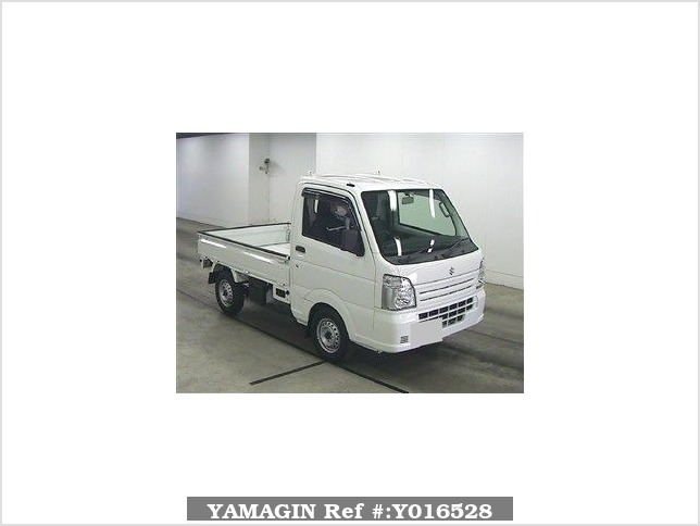 It is a picture of the white suzuki carry  truck in 2016,Sub Photo 0 Stock No.Y016528