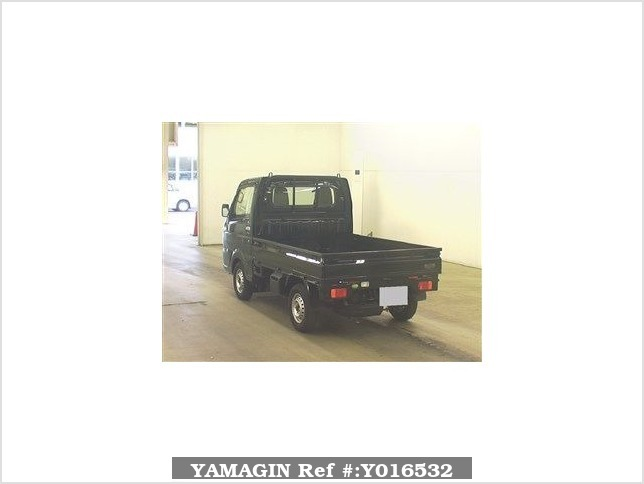 It is a picture of the black suzuki carry  in 2017,Sub Photo 1 Stock No.Y016532