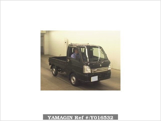 It is a picture of the black suzuki carry  in 2017,Sub Photo 0 Stock No.Y016532