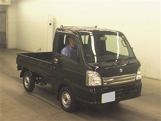 It is a picture of the black suzuki carry  in 2017,First Photo Stock No.Y016532