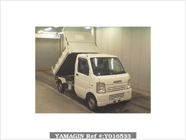 It is a picture of the white suzuki carry  dump in 2006,Sub Photo 0 Stock No.Y016533