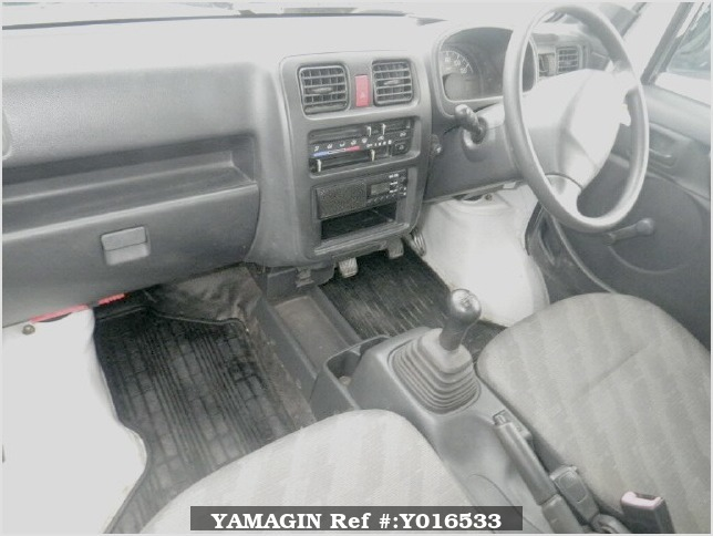 It is a picture of the white suzuki carry  dump in 2006,Sub Photo 2 Stock No.Y016533