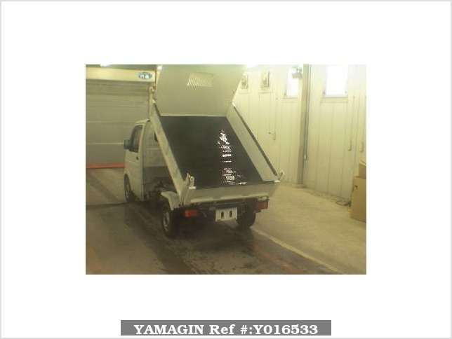 It is a picture of the white suzuki carry  dump in 2006,Sub Photo 1 Stock No.Y016533