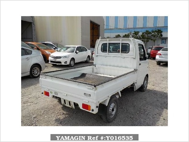 It is a picture of the white suzuki carry  truck in 2008,Sub Photo 2 Stock No.Y016535