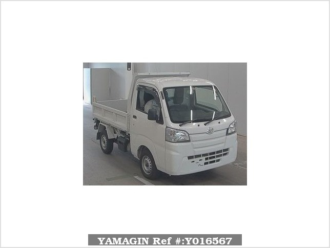 It is a picture of the white daihatsu hijet  in 2017,Sub Photo 0 Stock No.Y016567