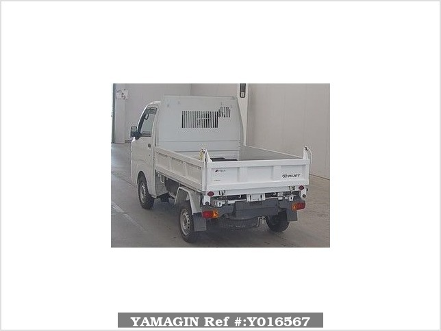 It is a picture of the white daihatsu hijet  in 2017,Sub Photo 1 Stock No.Y016567