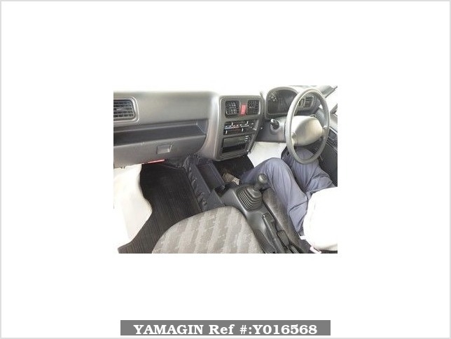 It is a picture of the white suzuki carry  in 2008,Sub Photo 2 Stock No.Y016568