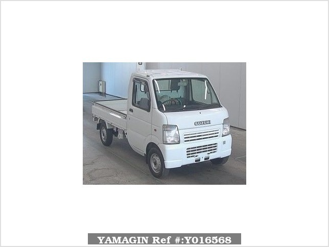 It is a picture of the white suzuki carry  in 2008,Sub Photo 0 Stock No.Y016568