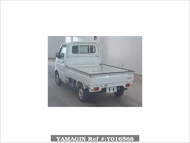 It is a picture of the white suzuki carry  in 2008,Sub Photo 1 Stock No.Y016568