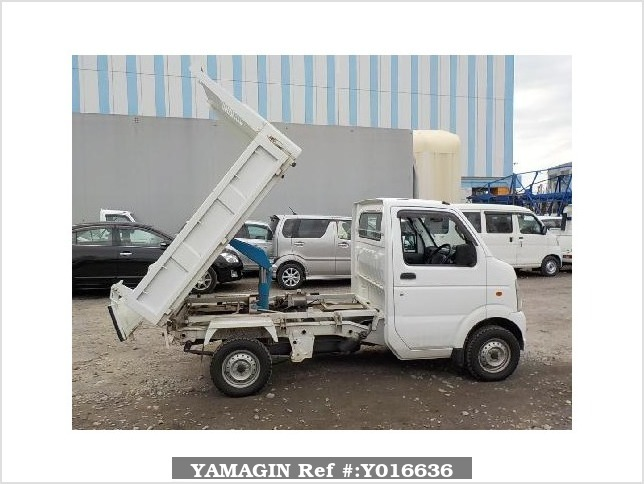 It is a picture of the white suzuki carry dump in 2012,Sub Photo 0 Stock No.Y016636