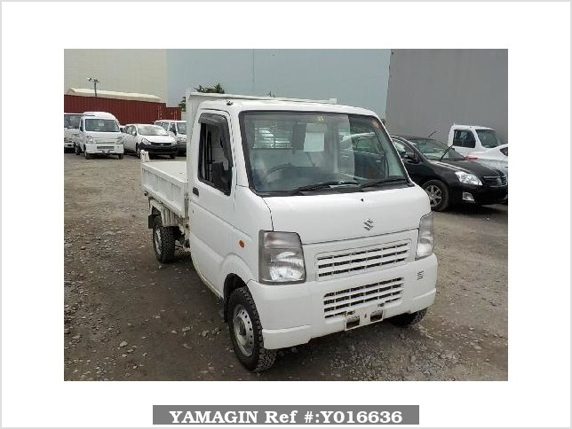 It is a picture of the white suzuki carry dump in 2012,Sub Photo 1 Stock No.Y016636