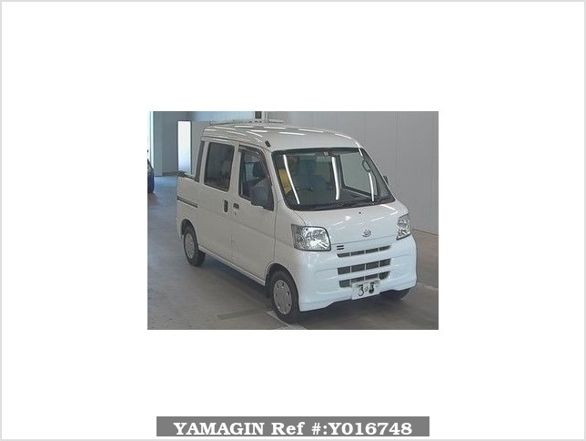 It is a picture of the white daihatsu hijet  deck van in 2008,Sub Photo 0 Stock No.Y016748