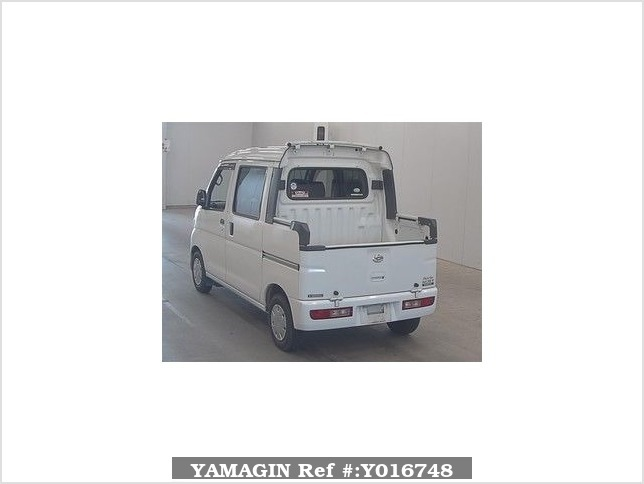 It is a picture of the white daihatsu hijet  deck van in 2008,Sub Photo 1 Stock No.Y016748