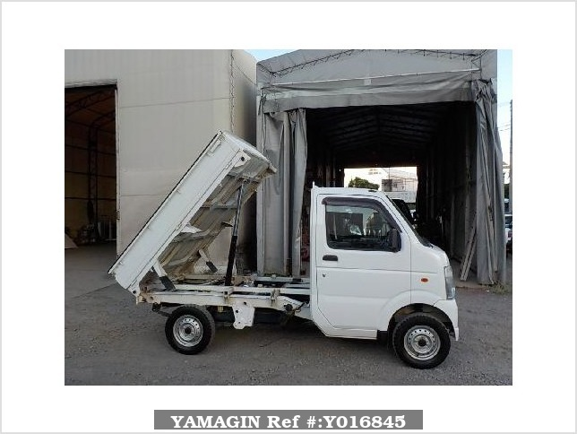 It is a picture of the white suzuki carry dump in 2013,Sub Photo 0 Stock No.Y016845