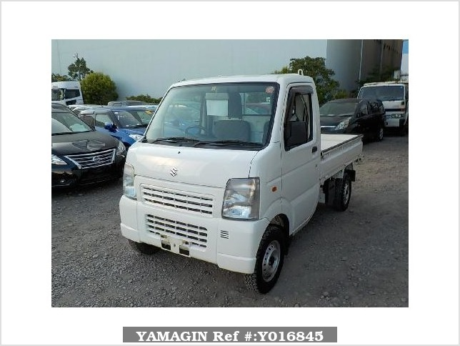 It is a picture of the white suzuki carry dump in 2013,Sub Photo 2 Stock No.Y016845