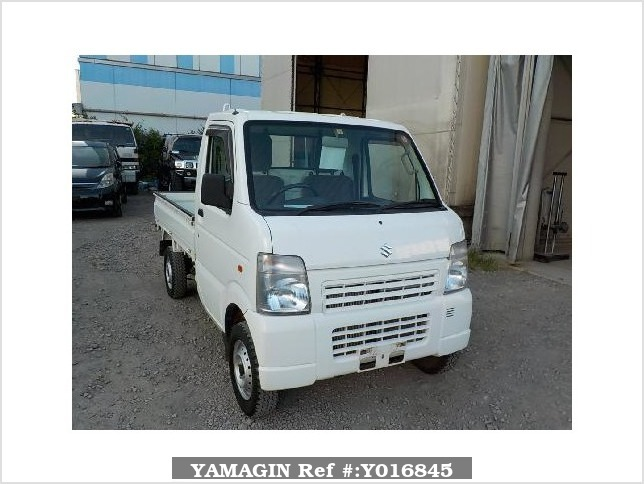 It is a picture of the white suzuki carry dump in 2013,Sub Photo 1 Stock No.Y016845