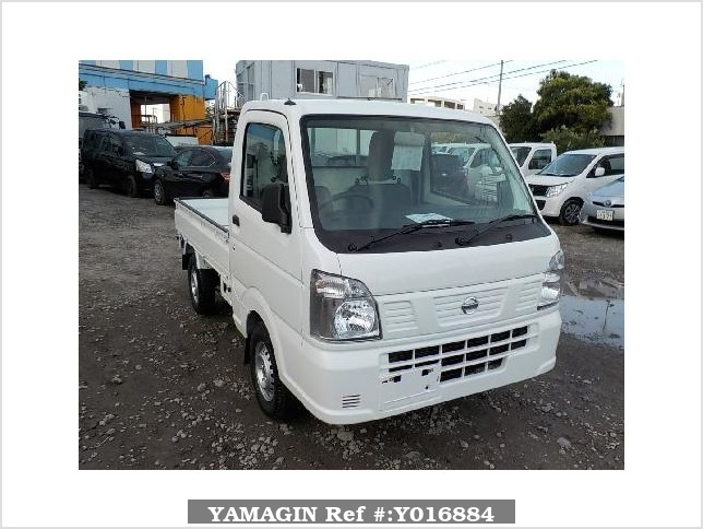 It is a picture of the white nissan nt100 clipper truck in 2018,Sub Photo 0 Stock No.Y016884