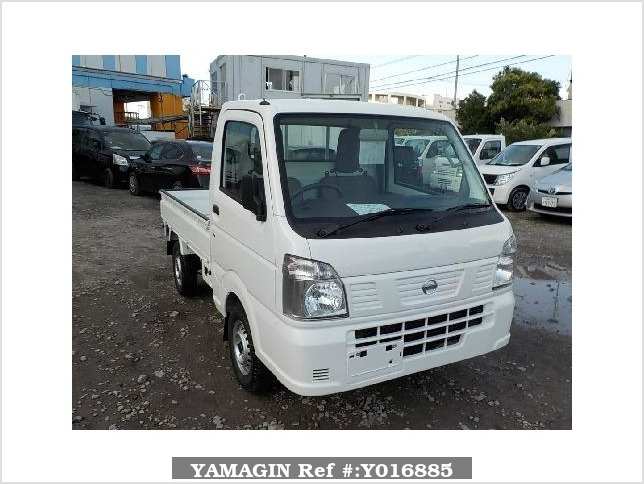 It is a picture of the white nissan nt100 clipper truck in 2018,Sub Photo 0 Stock No.Y016885