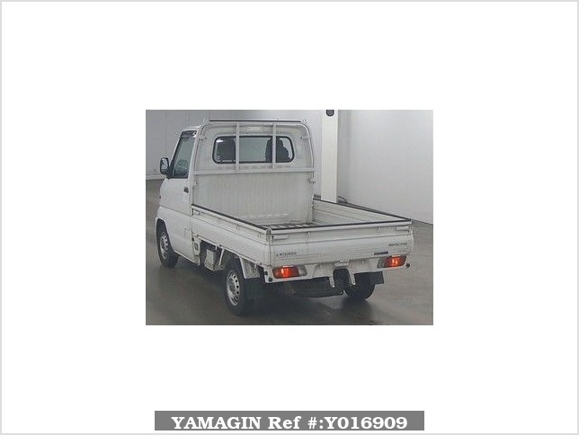 It is a picture of the white mitsubishi minicab in 2000,Sub Photo 1 Stock No.Y016909