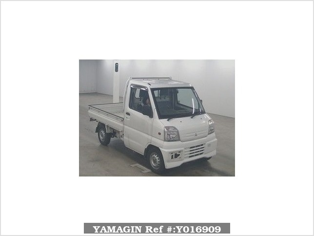 It is a picture of the white mitsubishi minicab in 2000,Sub Photo 0 Stock No.Y016909