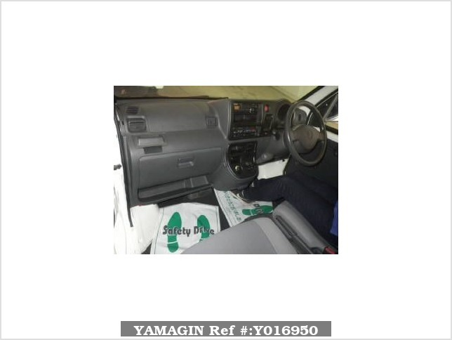 It is a picture of the white daihatsu hijet  deck van in 2006,Sub Photo 2 Stock No.Y016950