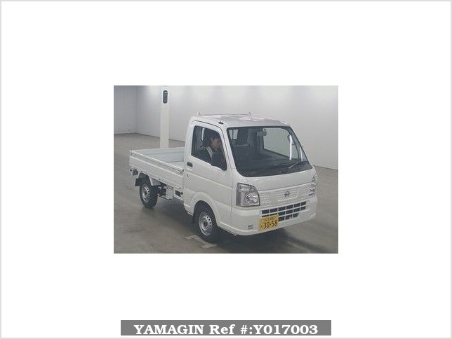 It is a picture of the white nissan nt100 clipper truck in 2018,Sub Photo 0 Stock No.Y017003