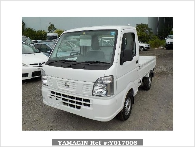 It is a picture of the white nissan nt100 clipper truck in 2018,Sub Photo 1 Stock No.Y017006