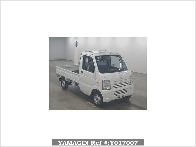 It is a picture of the white suzuki carry  in 2010,Sub Photo 0 Stock No.Y017007