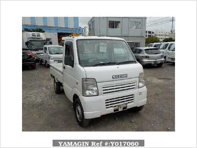 It is a picture of the white suzuki carry  truck in 2004,Sub Photo 10 Stock No.Y017060