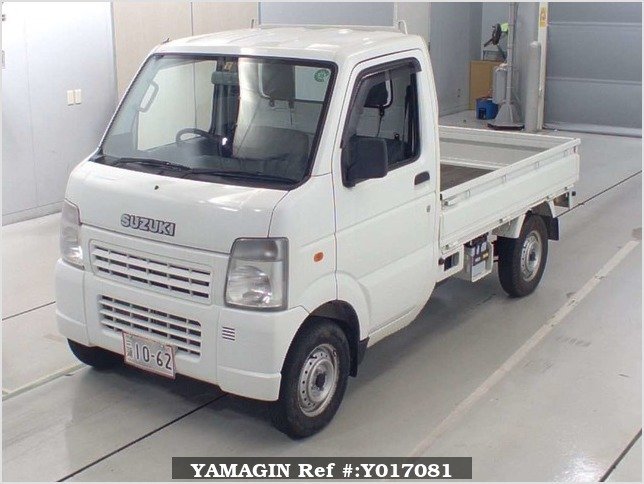 It is a picture of the white suzuki carry  truck in 2006,Sub Photo 4 Stock No.Y017081