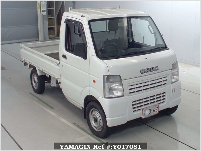 It is a picture of the white suzuki carry  truck in 2006,Sub Photo 0 Stock No.Y017081