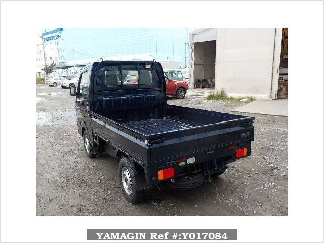 It is a picture of the blue suzuki carry truck in 2017,Sub Photo 3 Stock No.Y017084