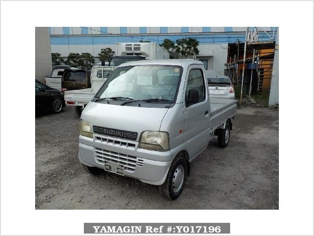 It is a picture of the silver suzuki carry  truck in 2002,Sub Photo 1 Stock No.Y017196